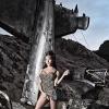 Glamorous Tgirl Mia Isabella posing outdoors